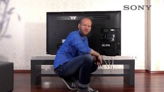 SONY BRAVIA TV - 3 Anschlüsse und Eingänge