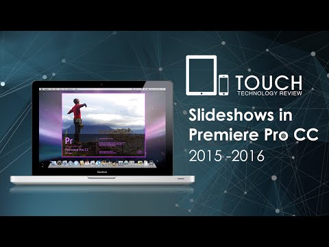Creating Slideshows with Adobe Premiere Pro CC - The Easy Way