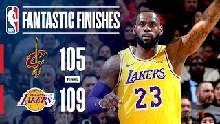 The Lakers Come Back in Cleveland for an Exciting Finish! | November 21, 2018