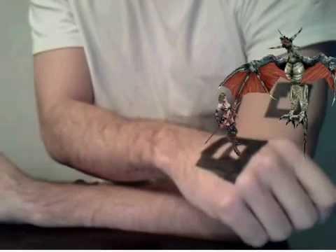 Augmented Reality Tattoo | Next Gen Skin Art