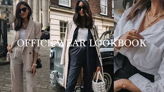 WORKWEAR BASICS AND OUTFIT IDEAS | LOOKBOOK