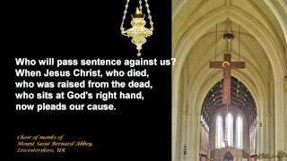 Romans 8:31-39 - Mount St. Bernard Abbey