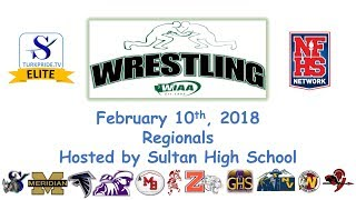 17-18 Wrestling - WIAA Regionals Hosted by Sultan High School