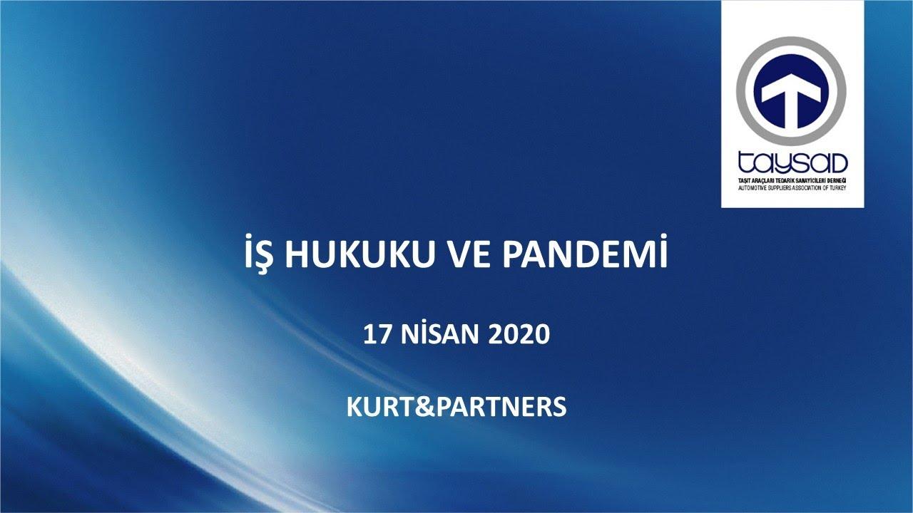 İŞ HUKUKU VE PANDEMİ - ONLINE SEMİNER