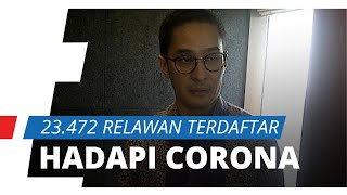Relawan untuk Hadapi Corona Capai 23.472, Andre Rahadian: Beberapa RS Masih Butuhkan Relawan medis