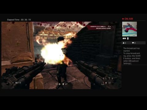 Shim Plays Wolfenstein: The Old Blood on PS4
