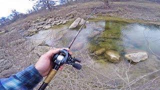 ULTRA Clear Creek Fishing For Big Backwoods Bass