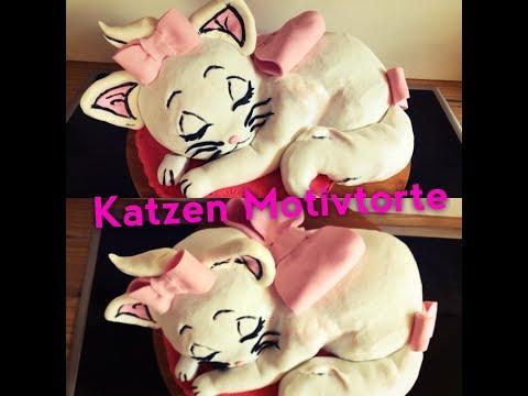 Katzen 3D Torte