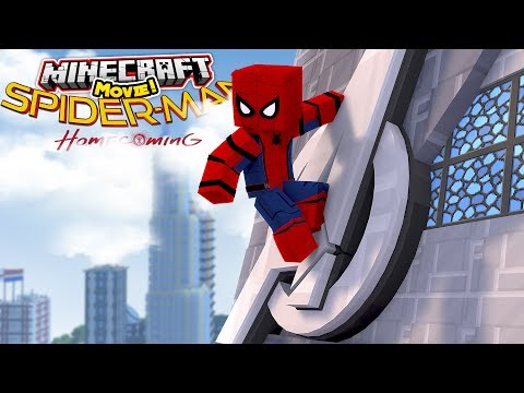SPIDER-MAN HOMECOMING - THE FULL MINECRAFT MOVIE!