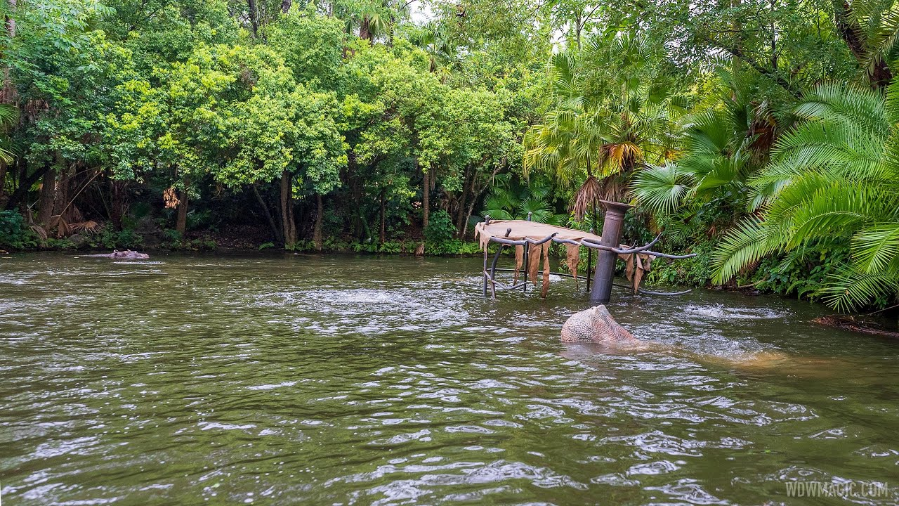 New Sunken Boat added to the Jungle Cruise