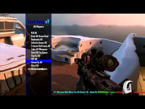 Download [PS3] Fuck Sony V7 Black Ops 2 GSC Mod Menu [1 19] in Full