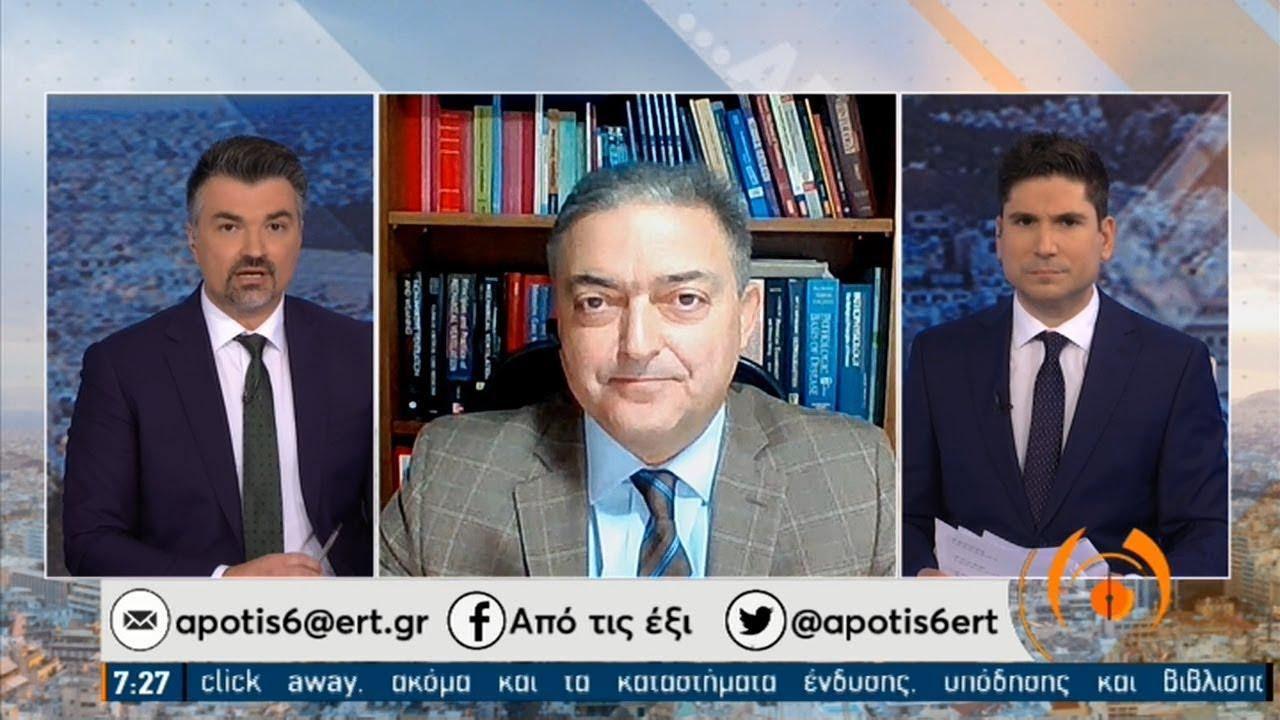 Βασιλακόπουλος: Οι μεταλλάξεις δεν μπορούν να κάνουν τους ιούς πιο θανατηφόρους   08/02/2021   ΕΡΤ