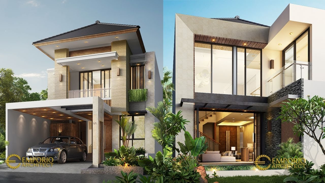 Video 3D Mrs. Gaya Modern House 2 Floors Design - Tangerang Selatan