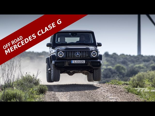 Mercedes Benz Clase G 2018, prueba off-road