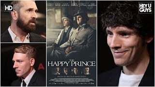 05-06-2018 Colin Morgan, Rupert Everett & Edwin Thomas The Happy Prince Premiere Interviews par HeyUGuys