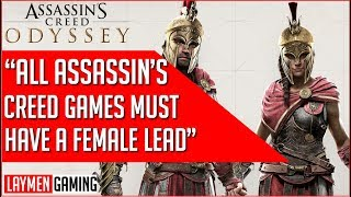Ubisosft Says No Female Lead Would Be A Step Back