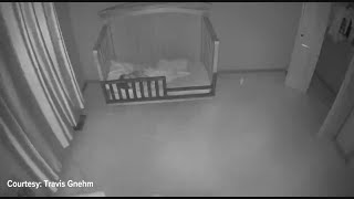 Baby Cam Shows Shaking During 4.6 Magnitude Earthquake