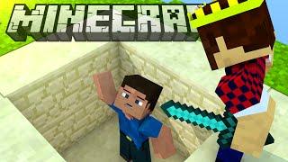 ПОЙМАЛИ В ЛОВУШКУ - Minecraft Bed Wars (Mini-Game)