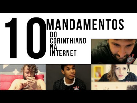 Corinthians solta vídeo com os dez mandamentos do corinthiano na Internet