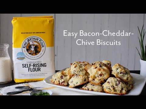 Easy Bacon-Cheddar-Chive Biscuits