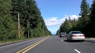Port Angeles to Port Townsend on US 101 and Wash. 20 Time Lapse Drive