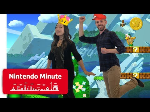 New Super Mario Bros. U Deluxe Co-op Gameplay - Nintendo Minute thumbnail