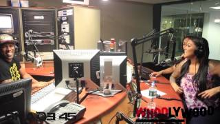 TATTED UP HOLLY vs DJ WHOO KID on the WHOOLYWOOD SHUFFLE on SHADE 45