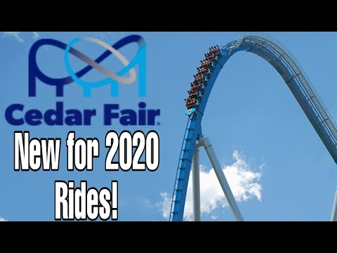 Cedar Fair New for 2020 Additions ANALYSIS!