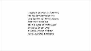 Jon Bon Jovi - Staring At Your Window With A Suitcase In My Hand ( lyrics )