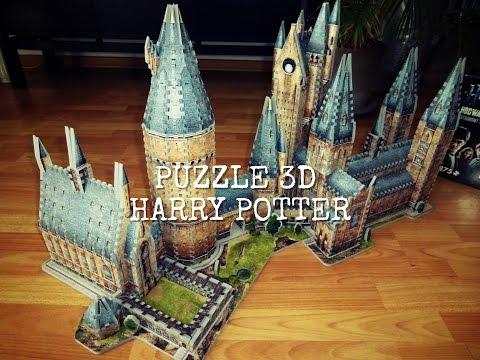 Puzzle Harry Potter 3D Wrebbit