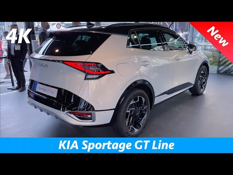 KIA Sportage 2022 - FIRST look & REVIEW in 4K   Exterior - Interior (GT Line) FULLY LOADED, Price
