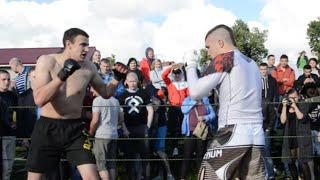 Super Fight ! Pit Bull vs Runner Pro MMA Fighter