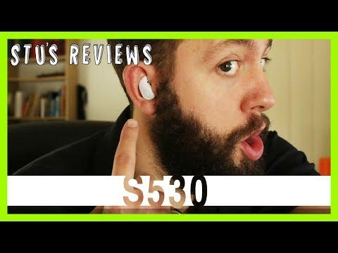 S530 Bluetooth Earbud Headset | Wireless Headphones | Review