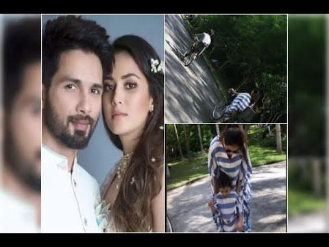 PICS: Shahid Kapoor & Mira Rajput enjoy a fun-filled vacation with kids Misha & Zain