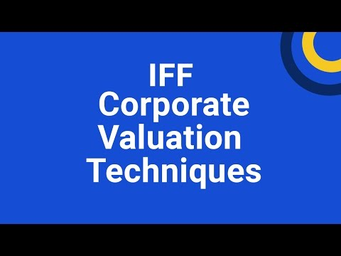 Corporate Valuation Techniques training course - YouTube