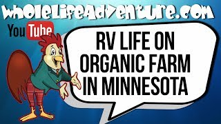 RV Life on Organic Farm in Minnesota