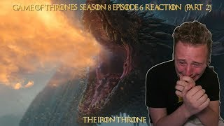 """Game of Thrones 8x06 """"The Iron Throne"""" reaction (PART 2)"""