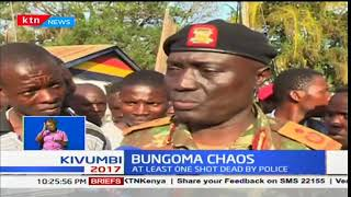 One dies of gunshot wounds after confrontation with security personnel in Bungoma