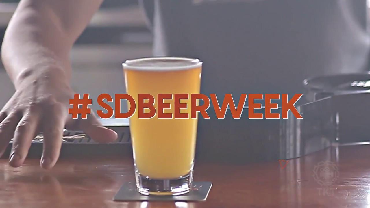 San Diego Beer Week 2017 promotional spot