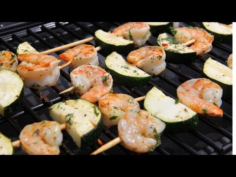 Shrimp Kebabs Recipe – Laura Vitale – Laura in the Kitchen Episode 431