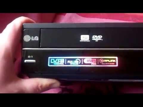 LG DVD VHS Rekorder RCT 699 H x264