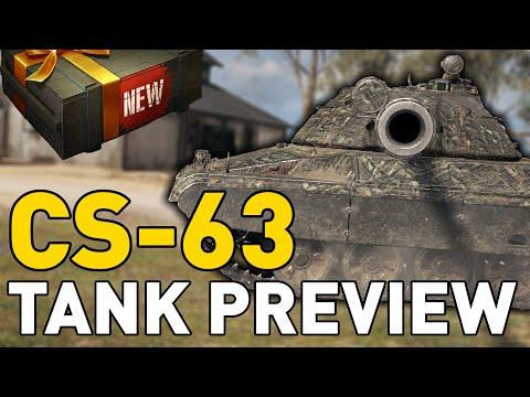CS-63 - Tank Preview - World of Tanks