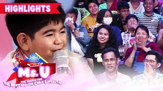 Yorme amazes Madlang People with his English-speaking skills | It's Showtime Mini Miss U