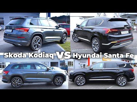 Hyundai Santa Fe 2021 vs Skoda Kodiaq 2021