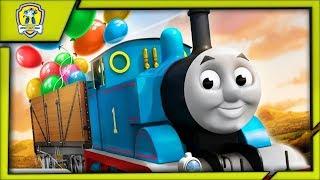 Томас и его Друзья Экспресс-Доставка Шаров и Фейерверков к Празднику