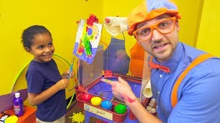 Blippi at the Play Place   Learn About Professions for Children