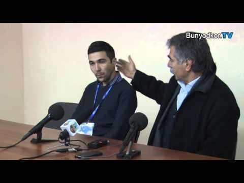 Post match press conference Vadim Abramov