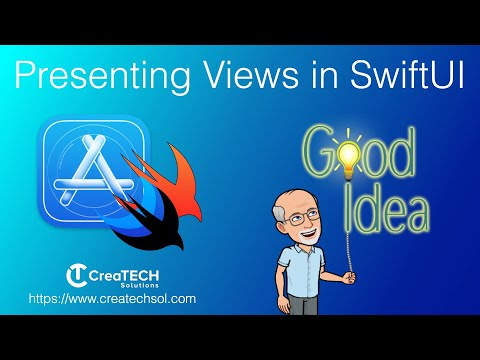 Presenting Views in SwiftUI thumbnail