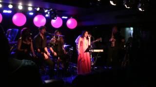 "Sarina Jennings singing ""You Bring Me Joy"" at a Anita Baker Tribute Show - Blue Beat Sydney"