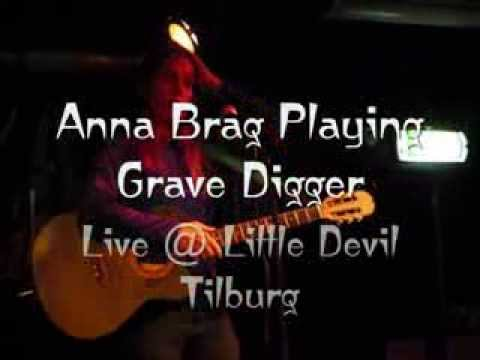 Anna Brag playing Grave Digger @ Little Devil Tilburg